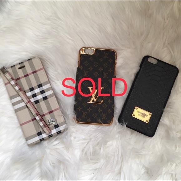 b22b4467ffe6 2 luxury designer inspired iPhone 6S plus cases